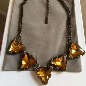 BaubleBar Triangle Statement Necklace